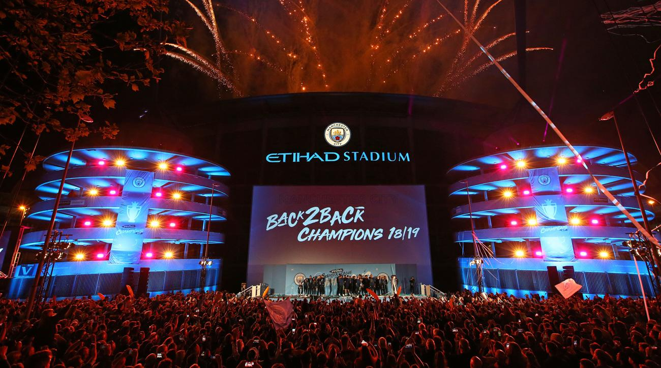 Man City goes for the domestic treble in the FA Cup final vs. Watford