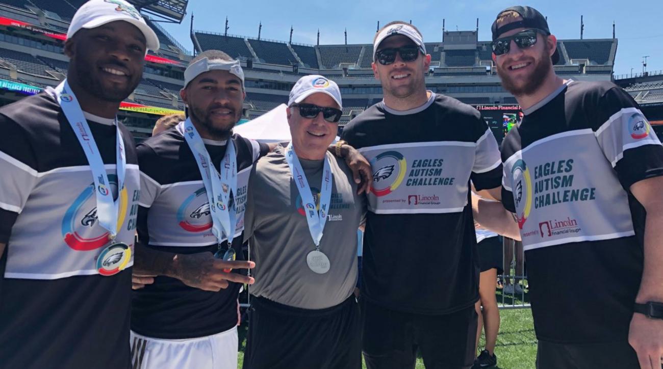 Eagles Autism Challenge Raises Over $3 Million at Second Annual Bike, Run Event