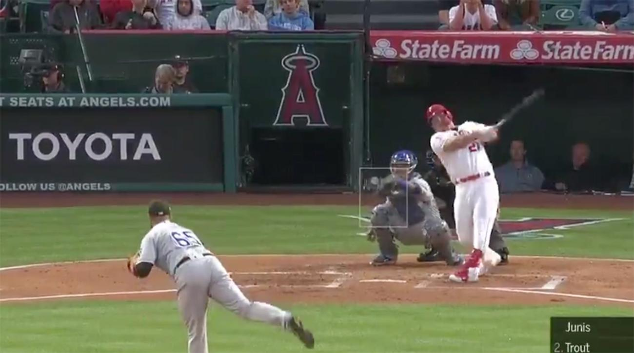 Mike Trout Crushes 473-Foot Solo Shot for His 250th Career Home Run