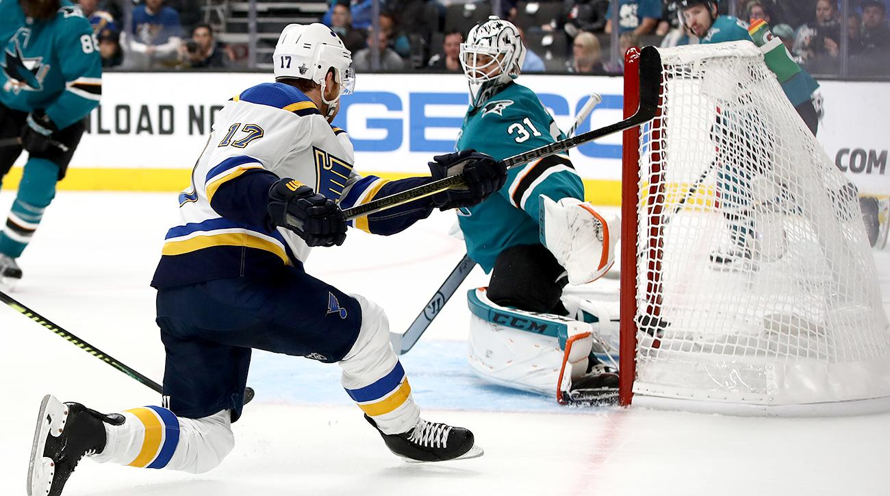 """Surges by Schwartz, Tarasenko have Blues one win away from Cup Final"""""""