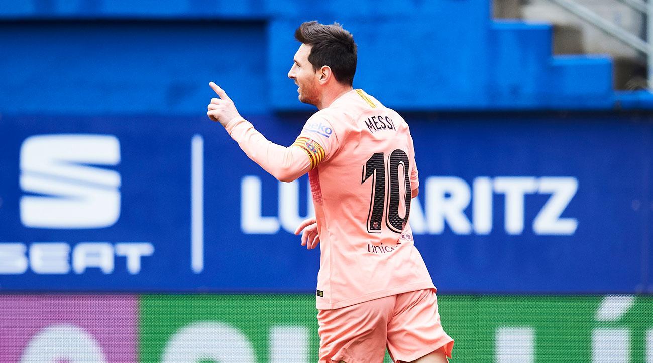 Watch: Messi Wins Sixth Pichichi Trophy, Extends Lead in European Golden Boot Race