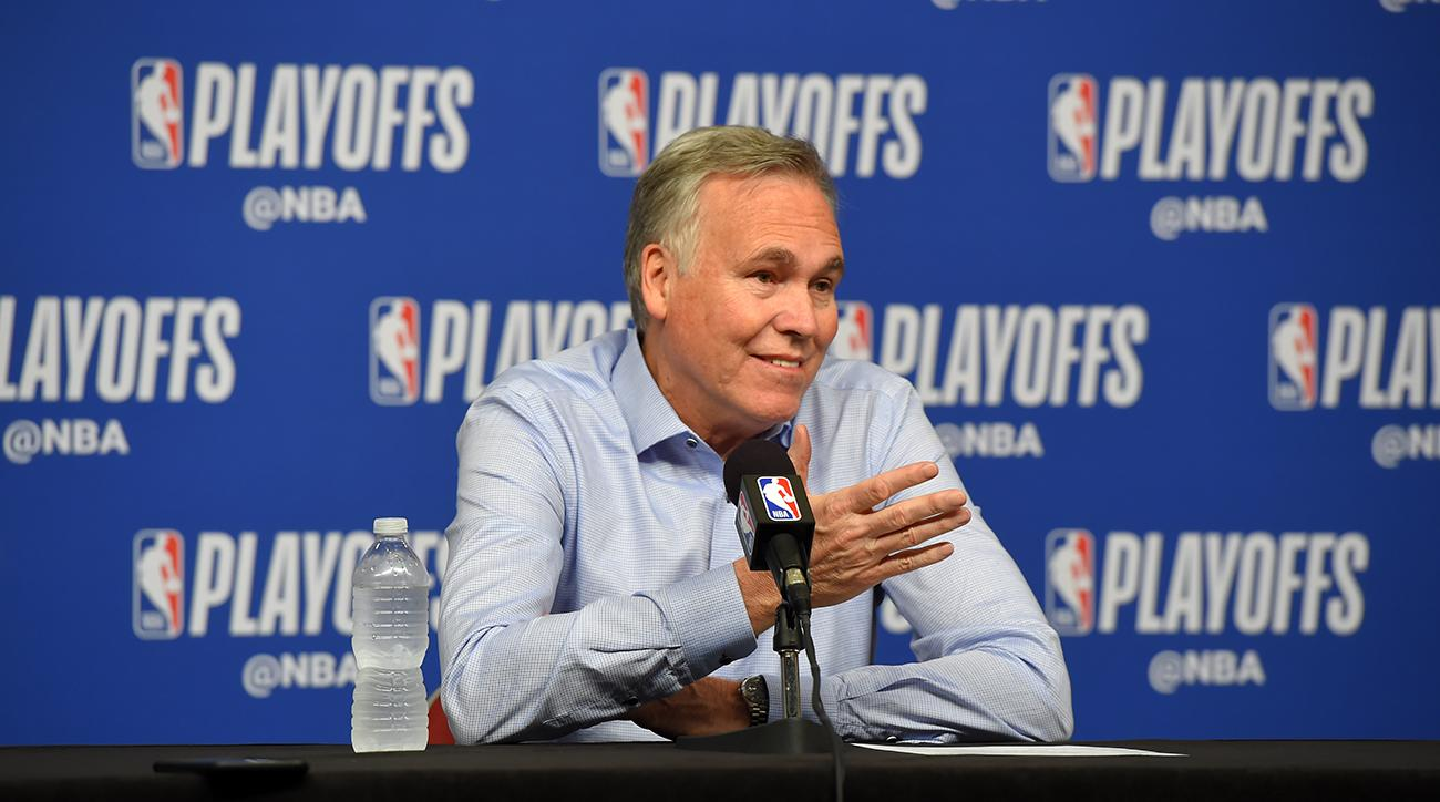 Mike D'Antoni Hopes to Coach Three More Years in Houston
