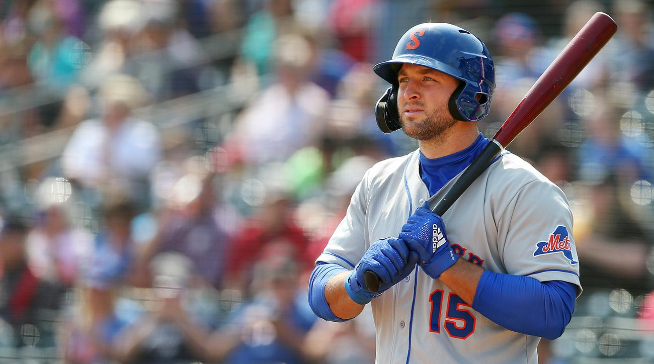 Tim Tebow Hits First Triple-A Home Run of His Career After Slow Start to Season
