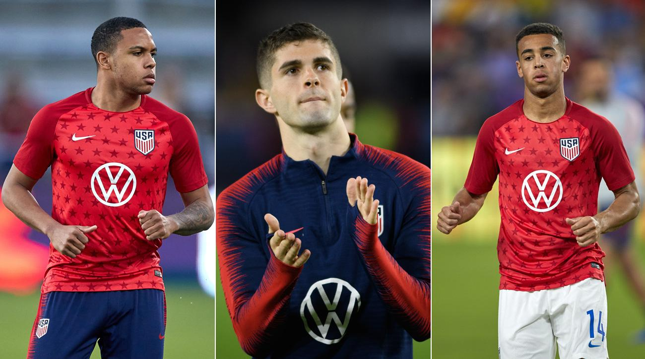 Weston McKennie, Tyler Adams and Christian Pulisic will lead the USA in the Gold Cup