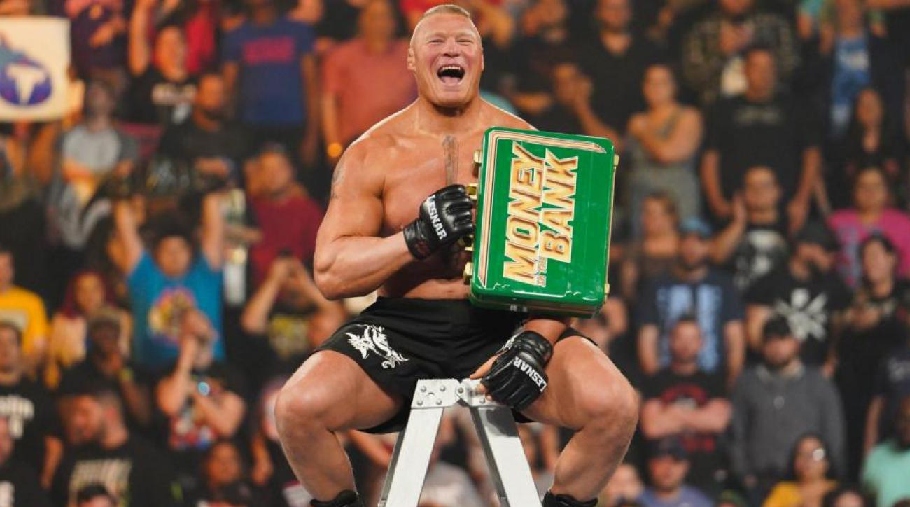 Money in the Bank Takeaways: Brock Lesnar Steals Show as WWE Competes With 'Game of Thrones'