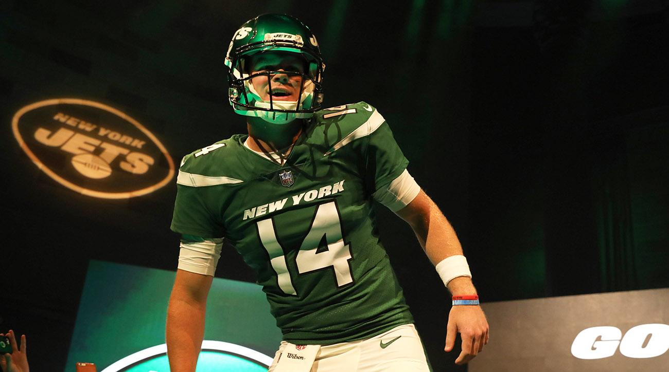 2019 New York Jets Uniform Unveiling Event