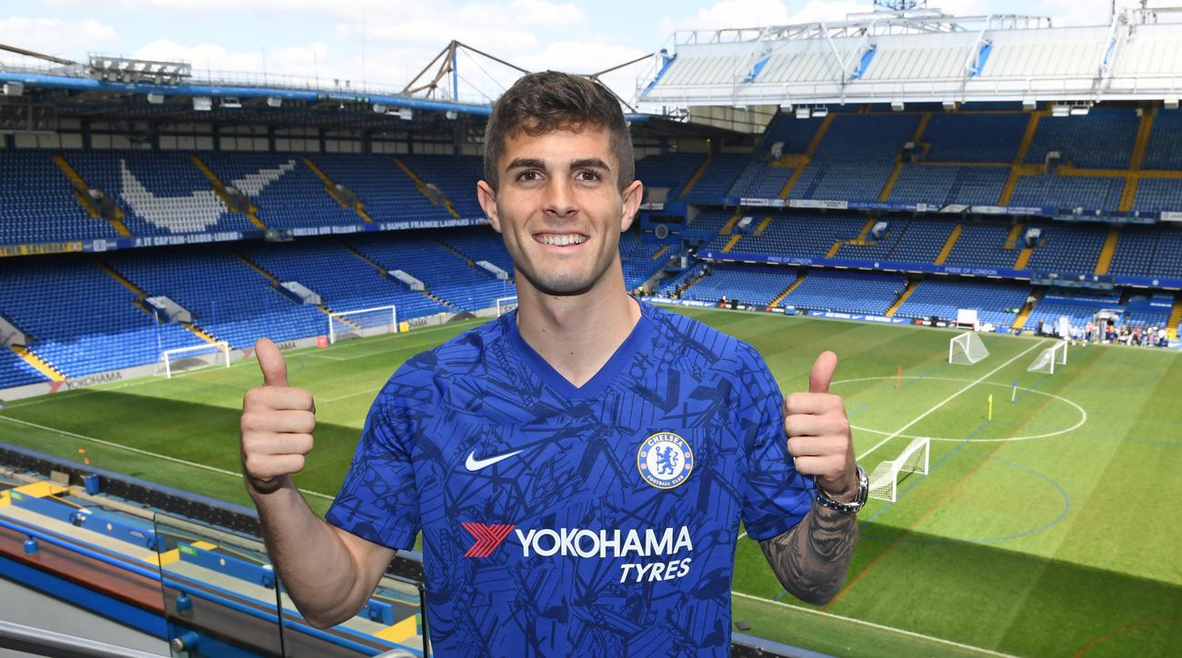 Christian Pulisic has officially joined Chelsea
