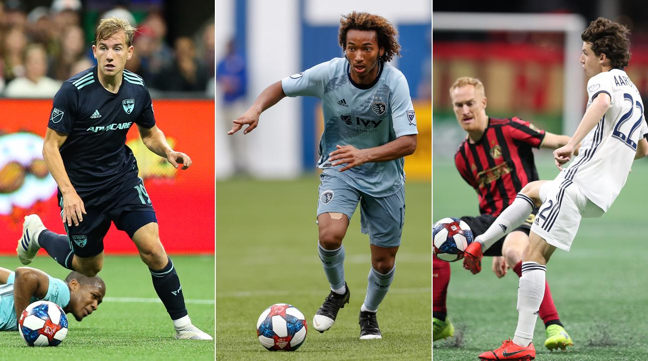 Teenagers Paxton Pomykal, Gianluca Busio and Brenden Aaronson are enjoying breakout MLS seasons