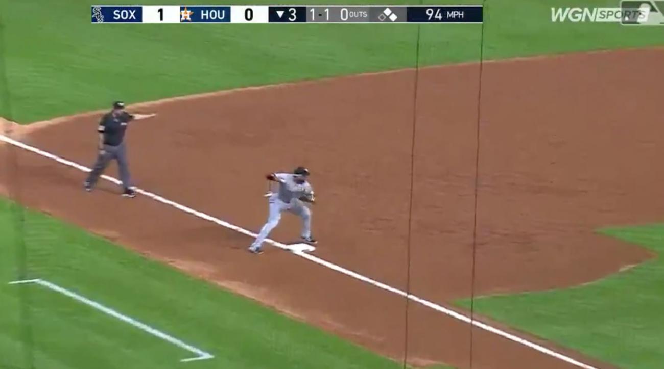 White Sox Turn First Triple Play of 2019 Season vs. Astros