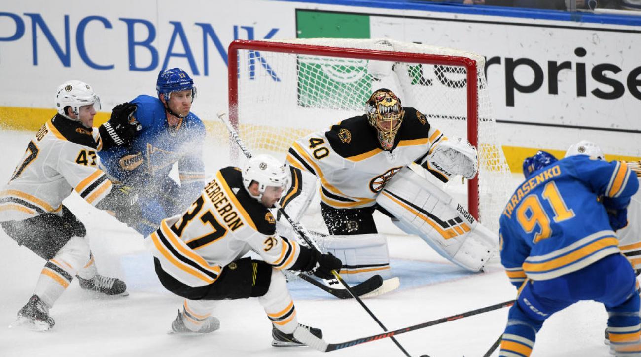 NHL: FEB 23 Bruins at Blues