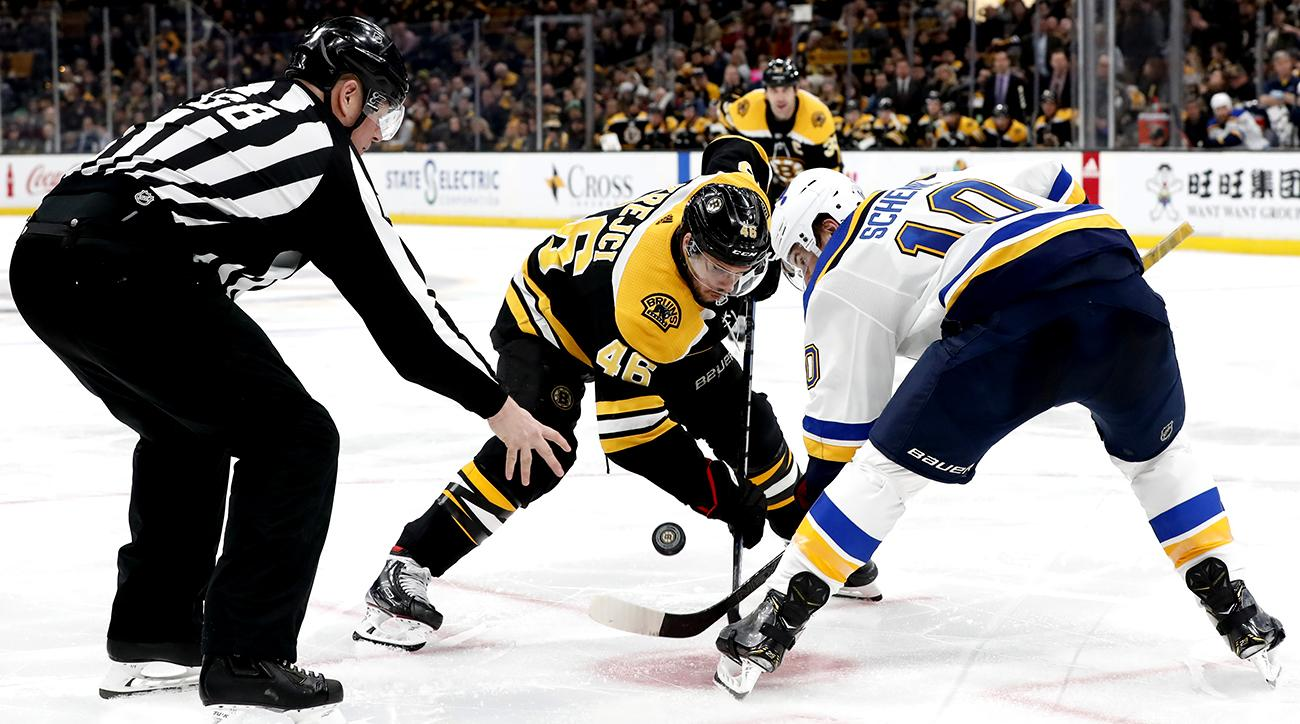 NHL: JAN 17 Blues at Bruins