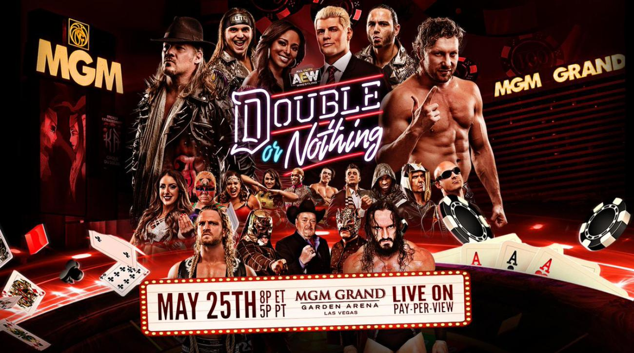 How to watch AEW 'Double or Nothing': Full match card, PPV, start time