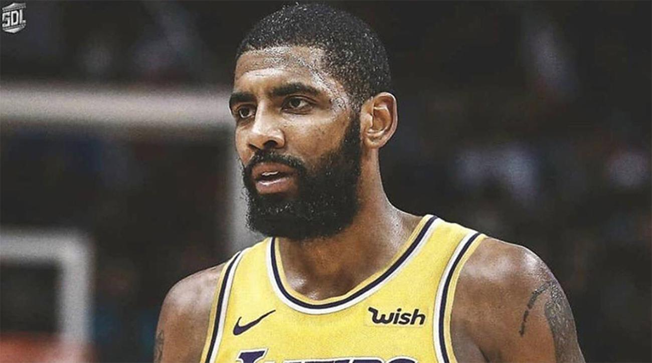 Kyrie Irving Lakers >> Lebron James Liked Instagram Post Of Kyrie Irving In Lakers