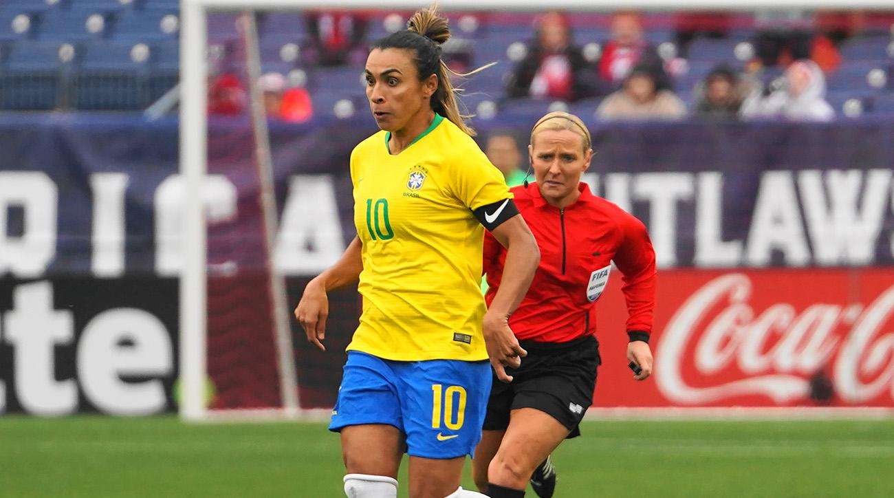 Medical Exams Uncover Left Thigh Injury for Marta, Brazil Legend Undergoing Physical Therapy