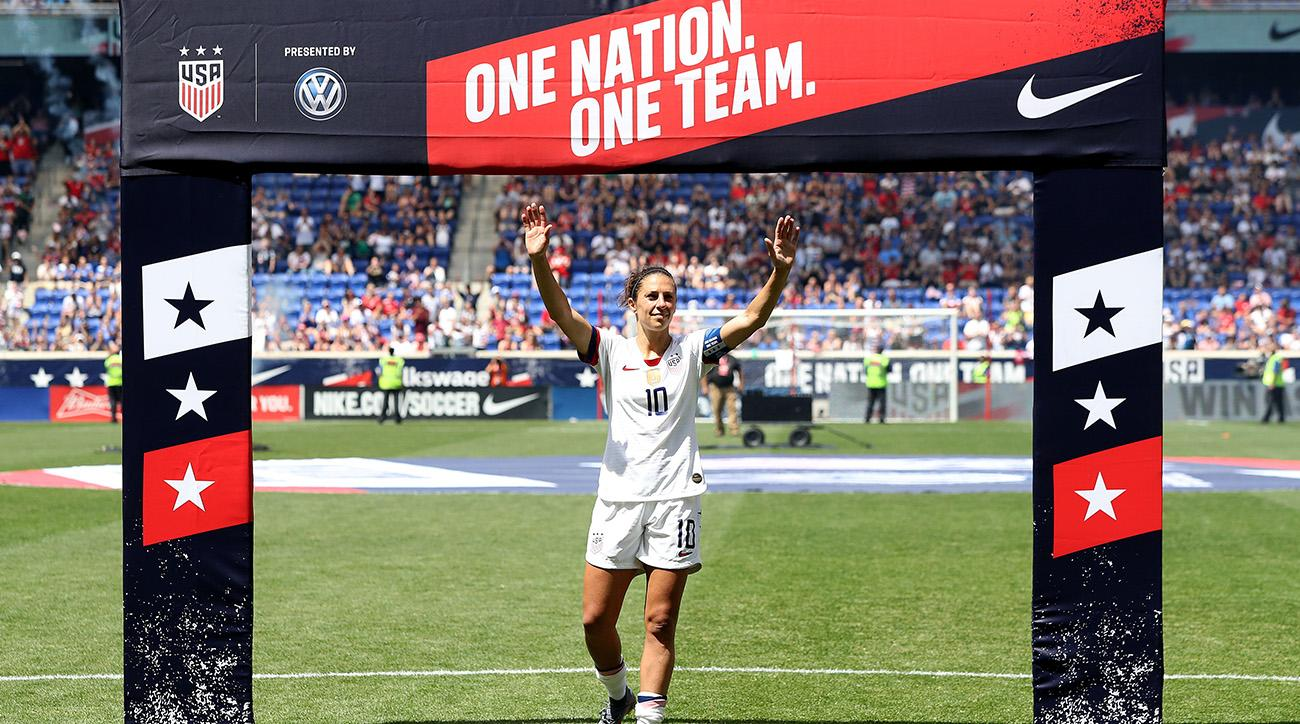fae59c8aa8a 2019 Women s World Cup  Questions surround USWNT ahead of France ...