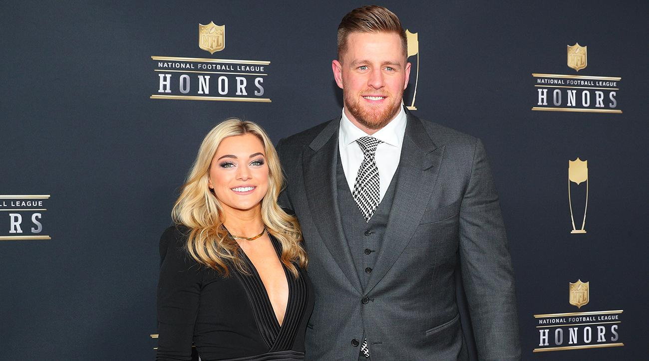 Texans' Watt engaged to soccer player Ohai