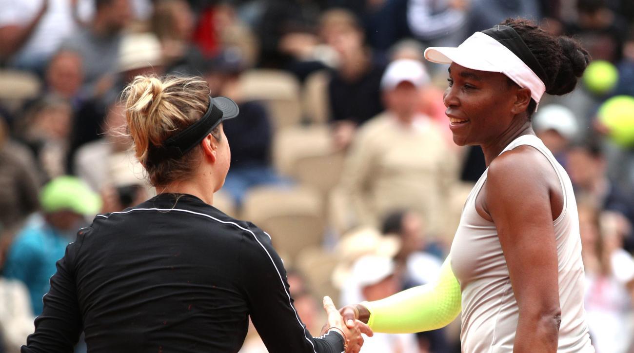 Venus Williams Elina Svitolina