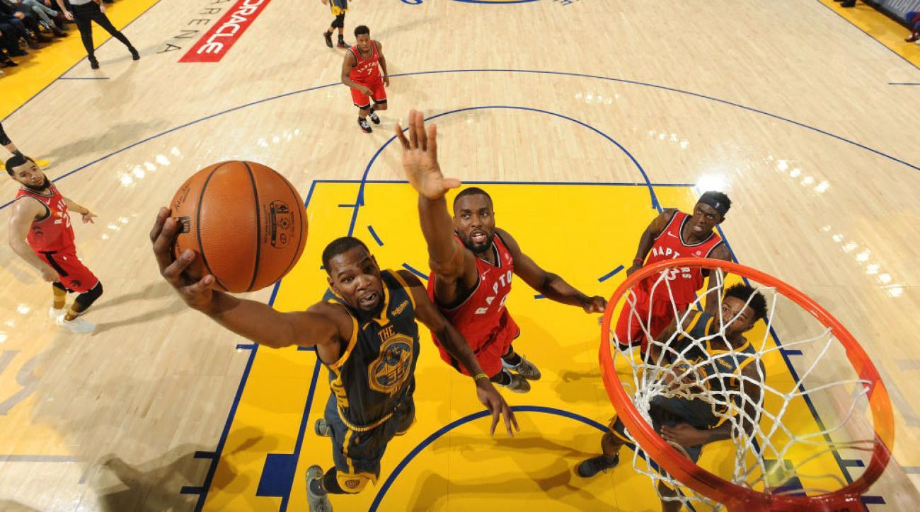 NBA Finals Odds: Warriors Heavy Favorites Over Raptors