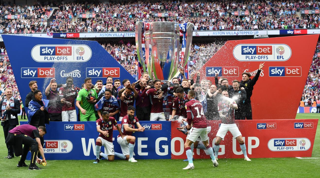 Aston Villa premier league championship playoff