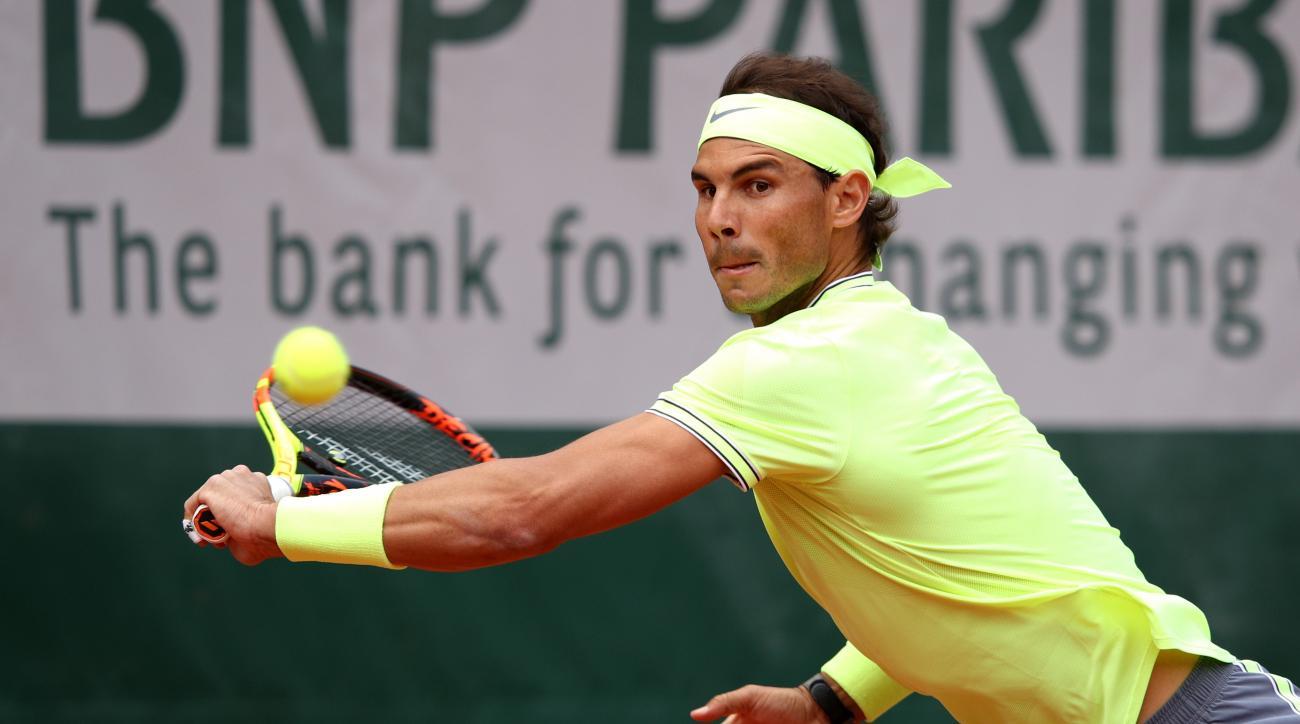 Rafael Nadal Yannick Hanfmann roland garros
