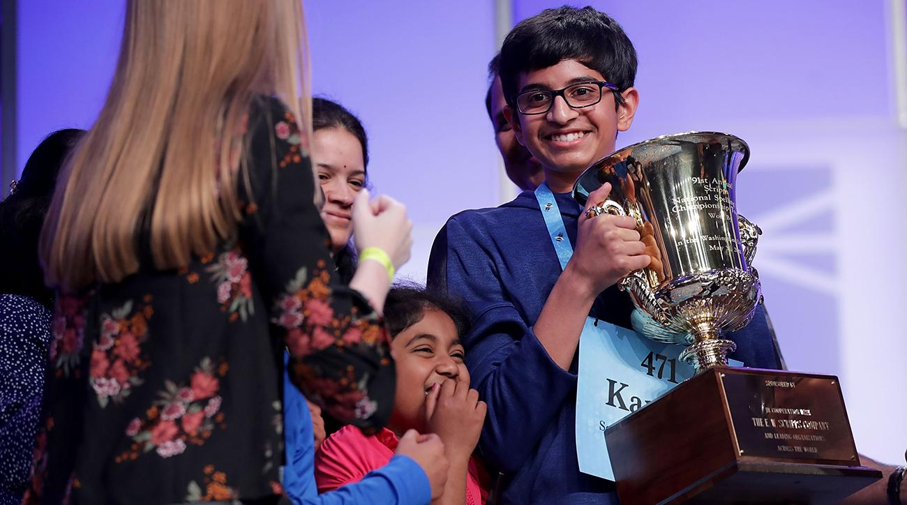 more sports, Scripps National Spelling Bee, Karthik Nemmani, wire