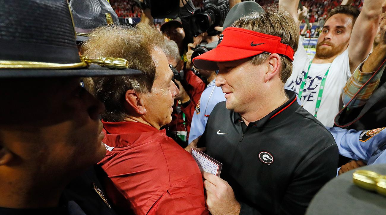 Nick Saban, Kirby Smart brace for epic Alabama-Georgia rivalry