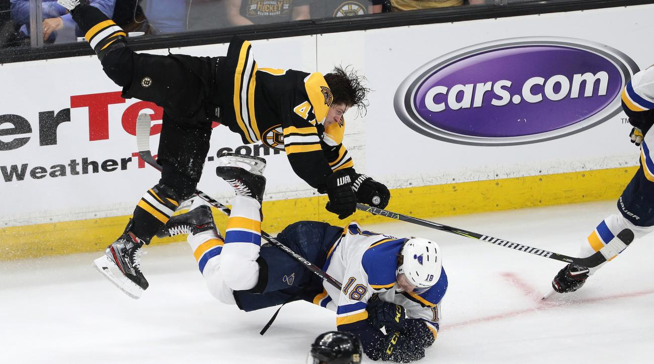 Stanley Cup Final: Torey Krug shift vs Blues (video)