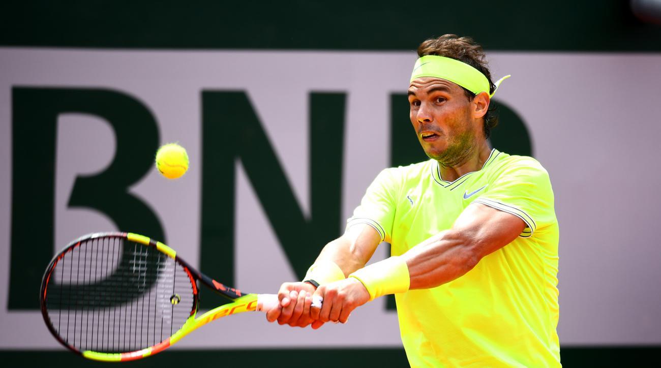 Rafael Nadal french open third round