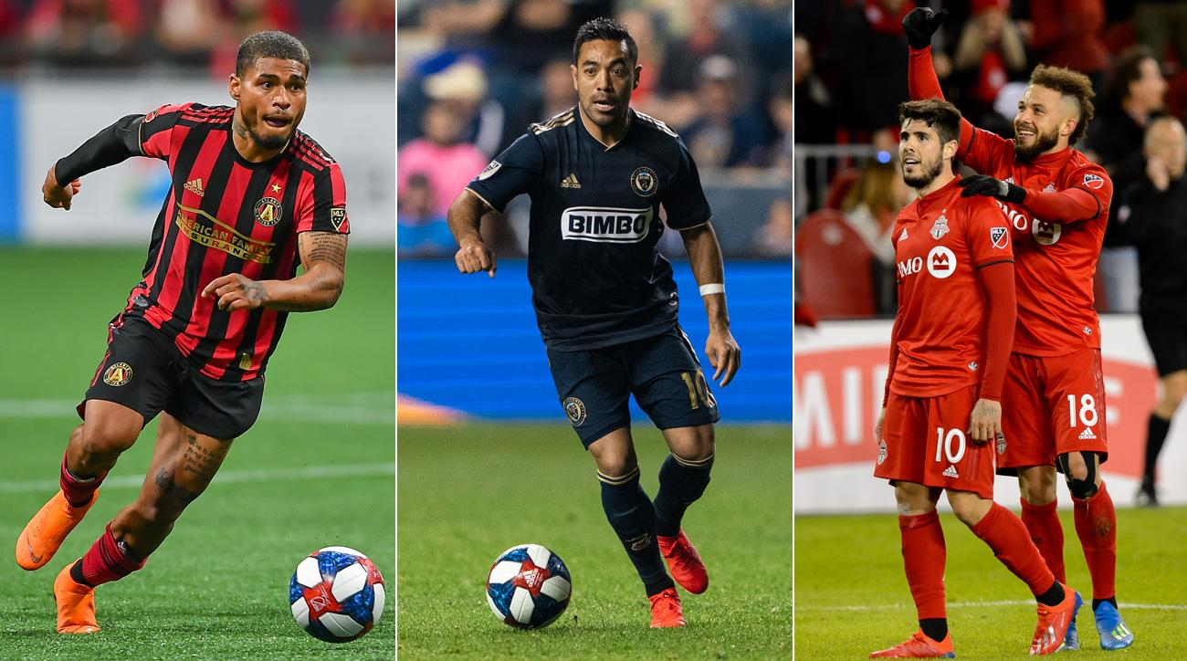 Atlanta United, Philadelphia Union and Toronto FC are among the three best teams in the Eastern Conference.