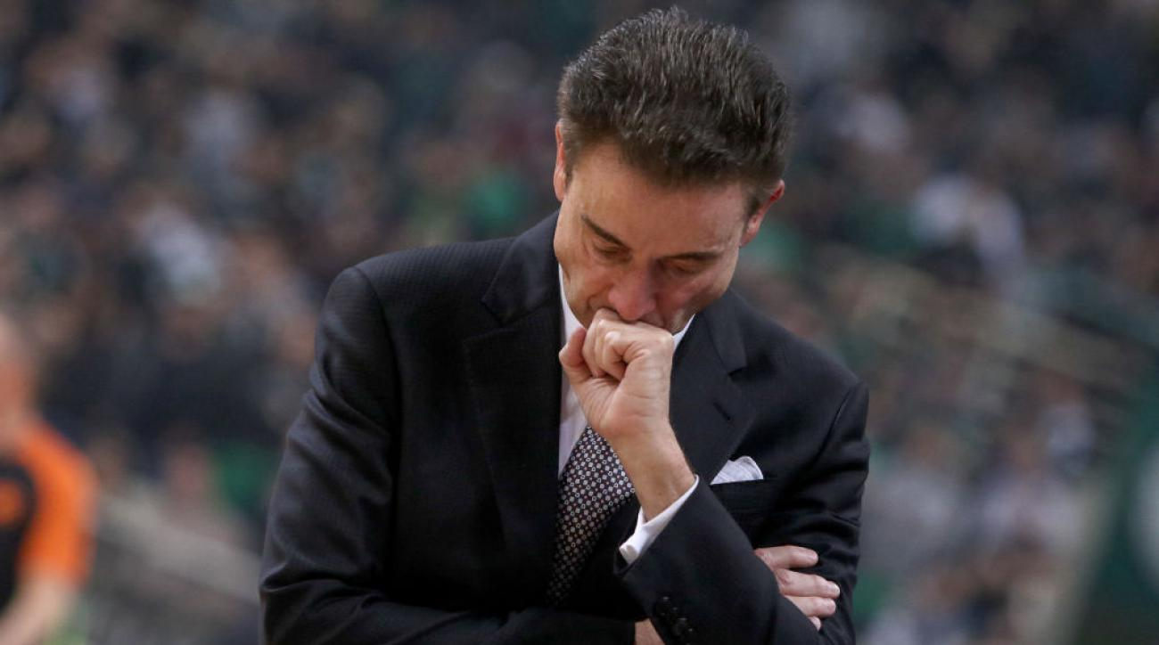 Rick Pitino Wants You to Please Stop Smoking During His Greek Basketball Team's Game