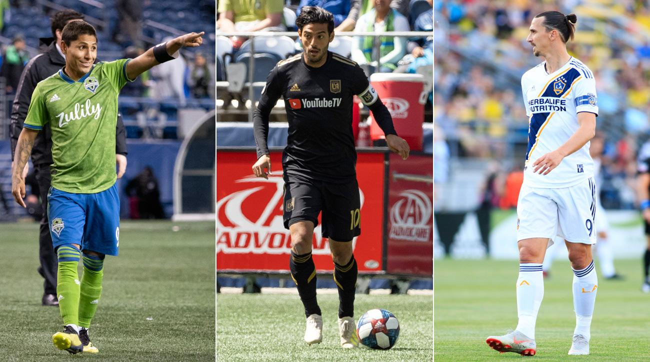The Seattle Sounders, LAFC and LA Galaxy are vying to be the best in the Western Conference