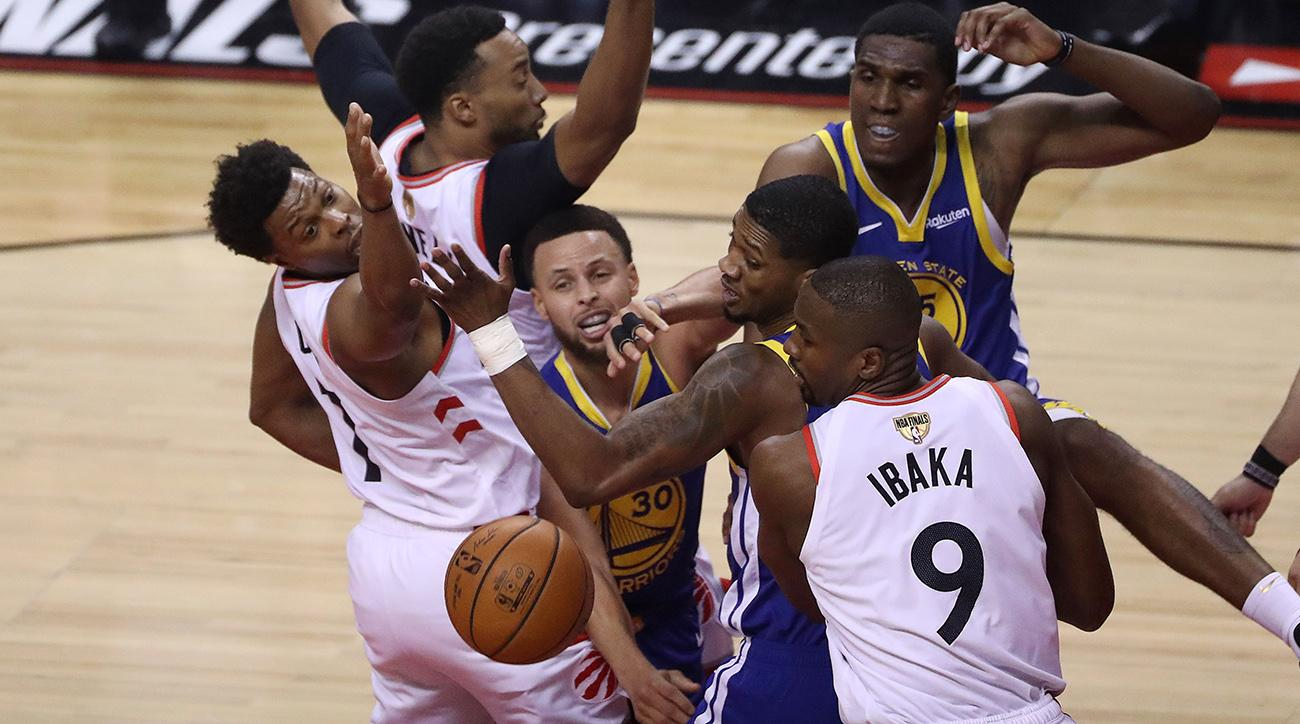 Raptors vs. Warriors