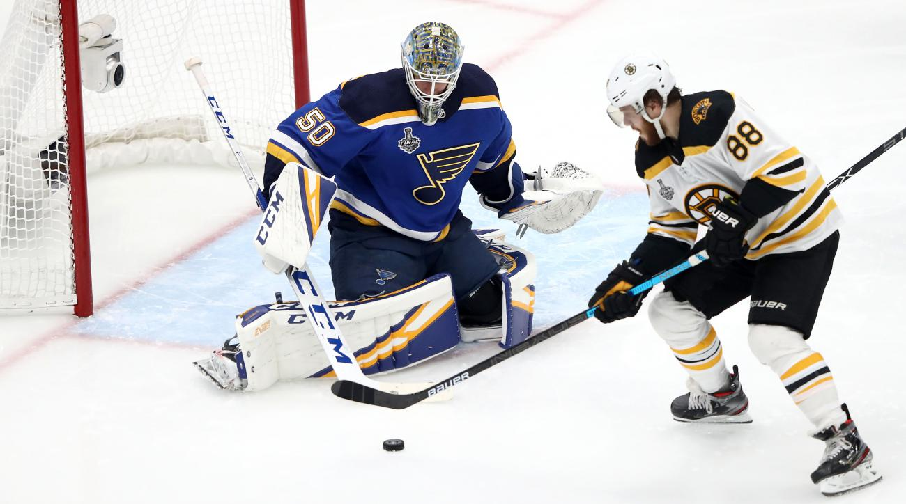 Stanley Cup finals: Bruins pound the Blues in Game 3 win