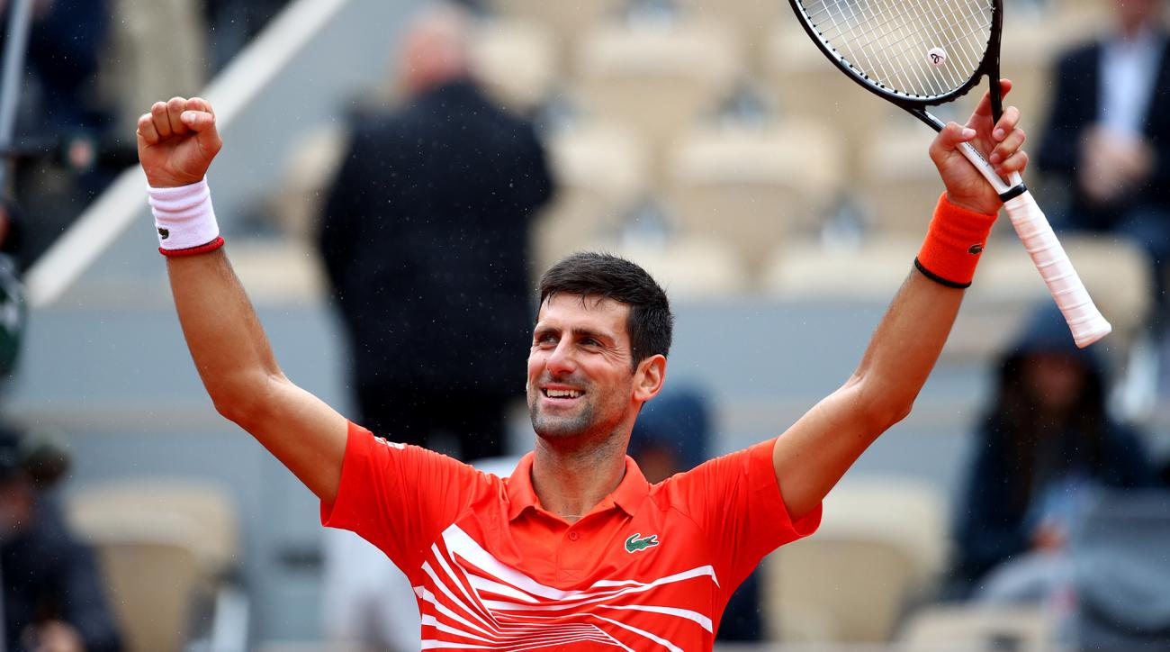 Djokovic and Thiem into semi-finals