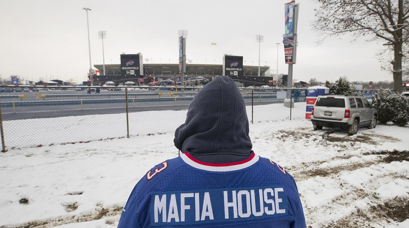 Bills Mafia at New Era Stadium, home of the Buffalo Bills