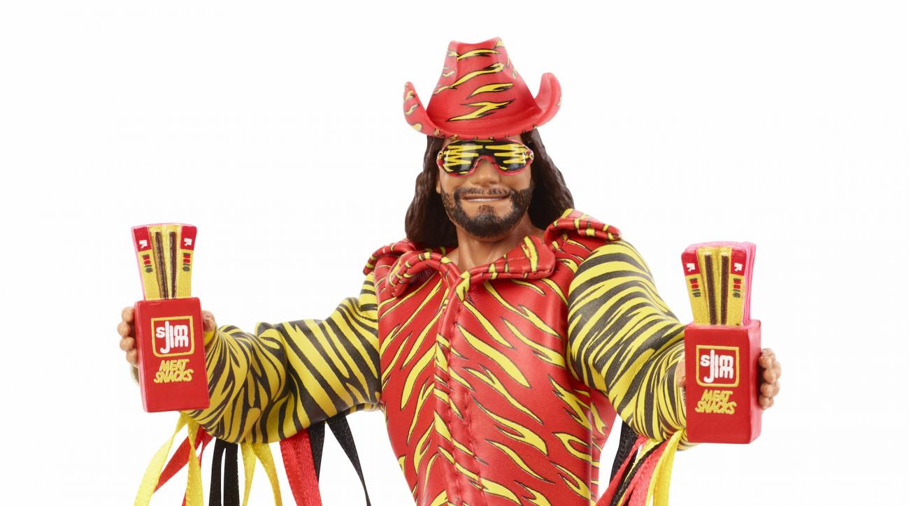 Macho Man Randy Savage Slim Jim figure from Mattel coming soon