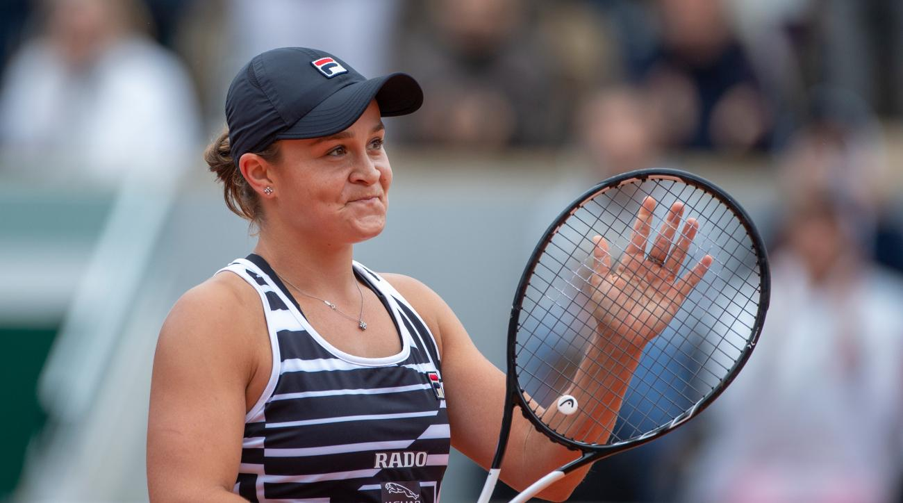 Barty Ends Anisimova's Run; to Play Vondrousova in French Open Final