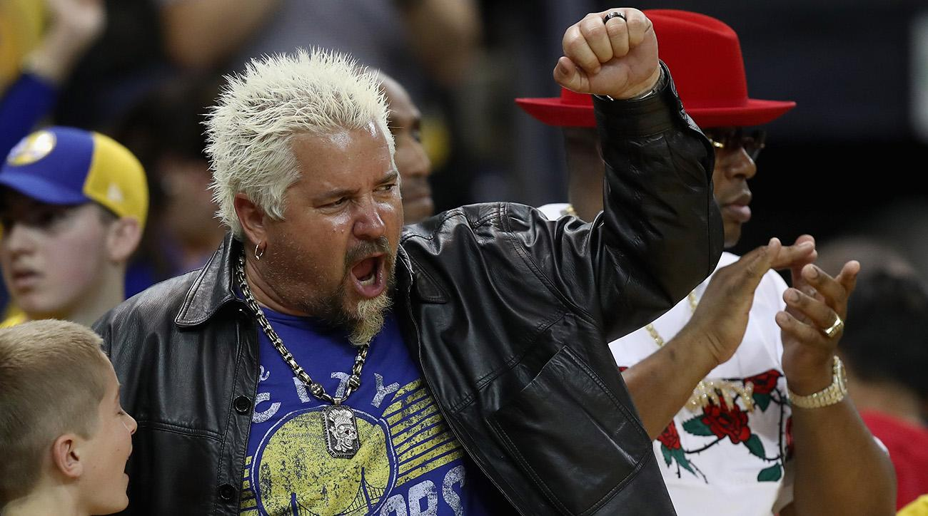 Guy Fieri Dishes on What He Would Cook for the Warriors, His Thoughts on Drake's Trolling