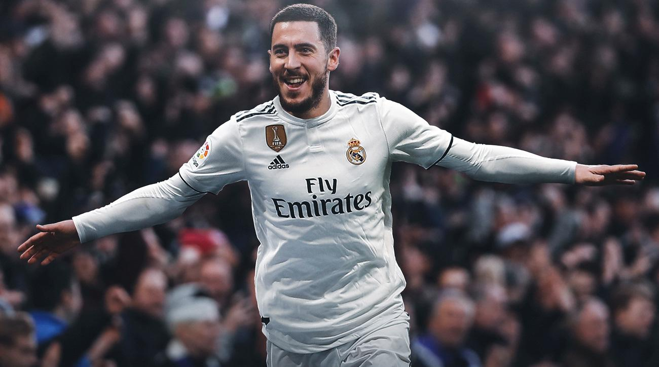 Eden Hazard signs with Real Madrid