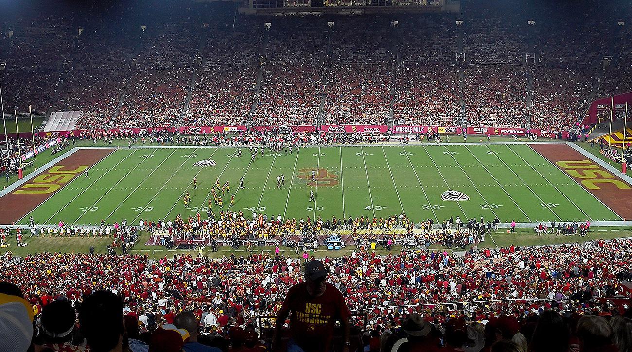 USC football LA Memorial Coliseum naming rights deal