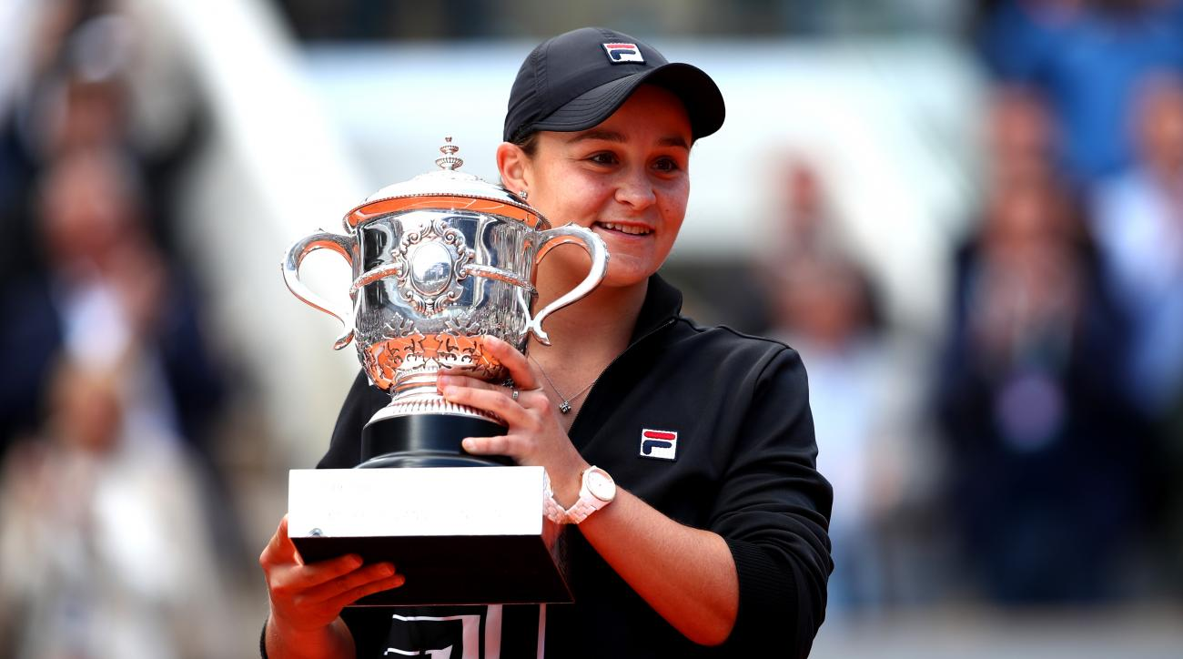 Ashleigh Barty Beats Teen Vondrousova to Win French Open, First Grand Slam Title
