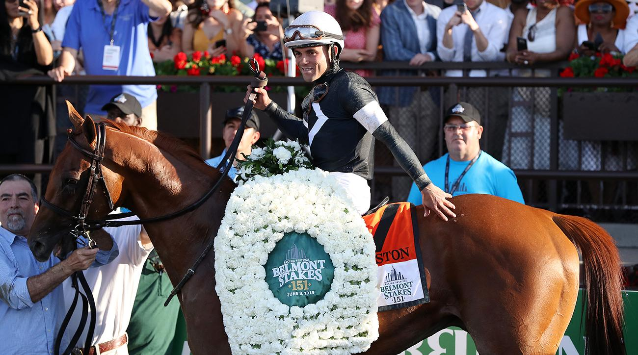 Sir Winston Wins 2019 Belmont Stakes