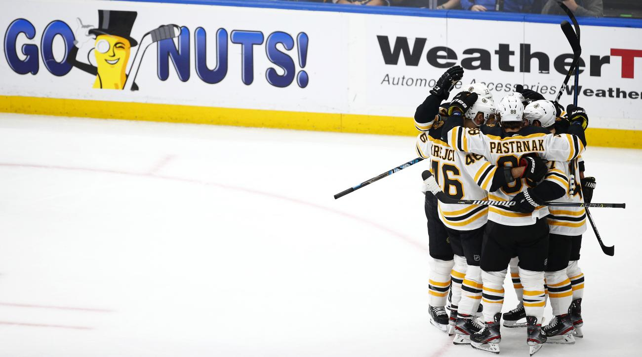 Bruins' Core Steps Up to Counterpunch Blues, Take Stanley Cup Final the Distance