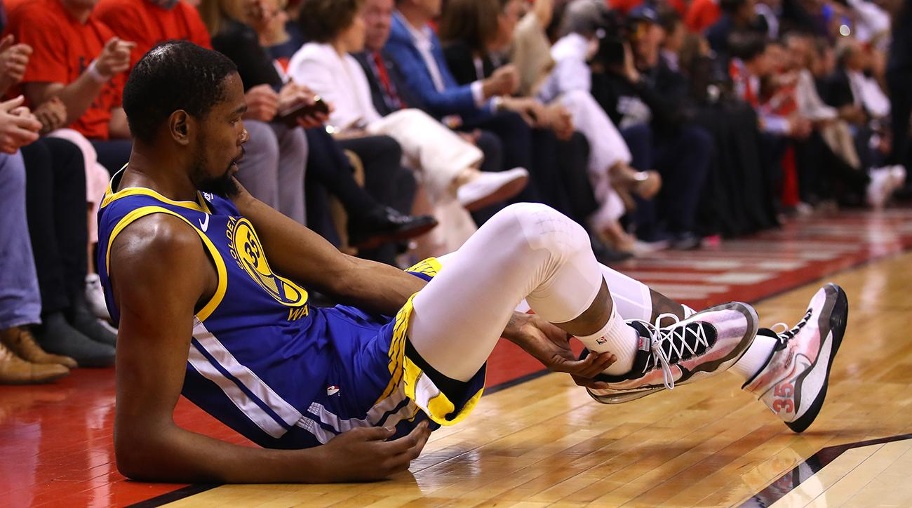 Dwyane Wade, NBA Stars React to Kevin Durant NBA Finals Injury