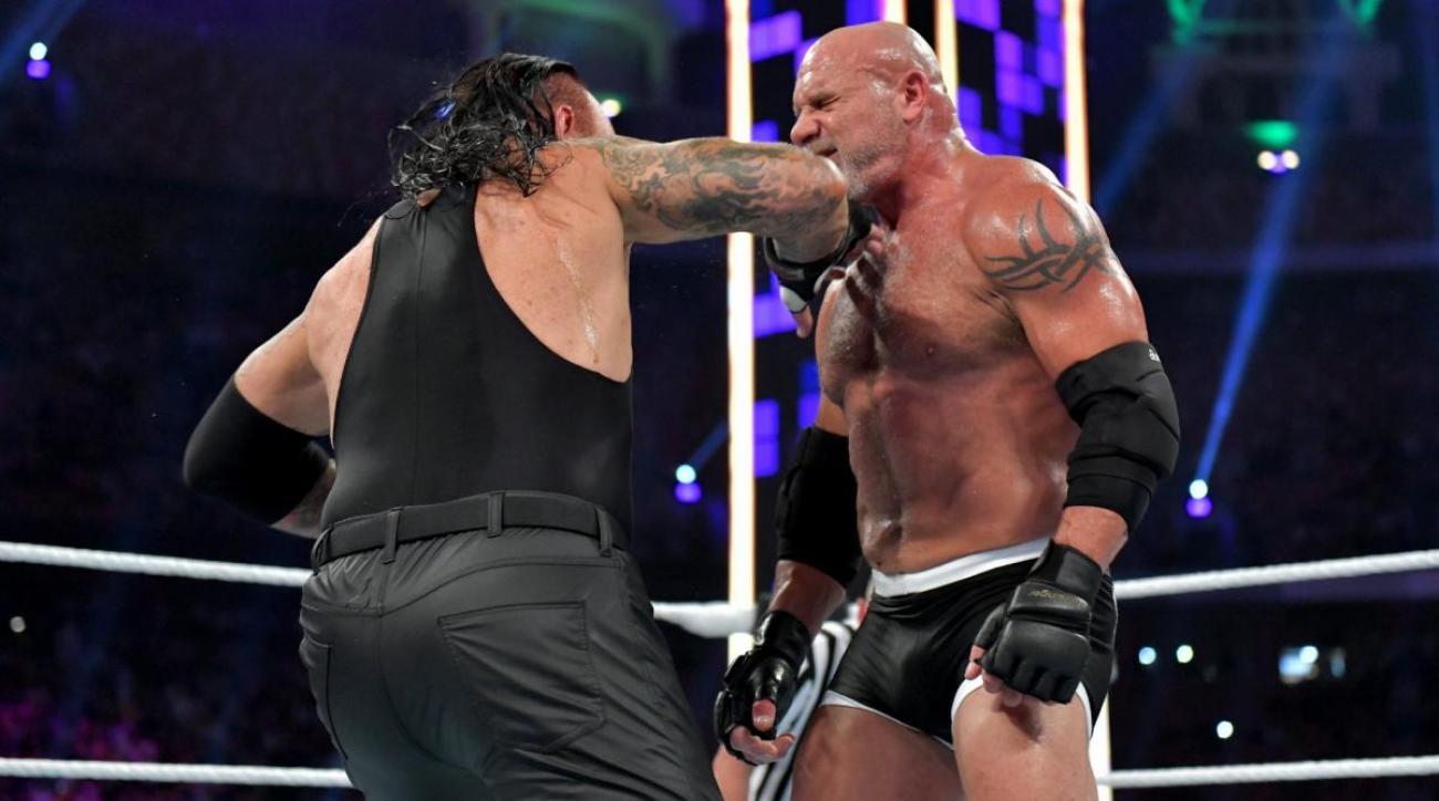 Undertaker-Goldberg Was the Nadir of an Eventful Weekend in Wrestling