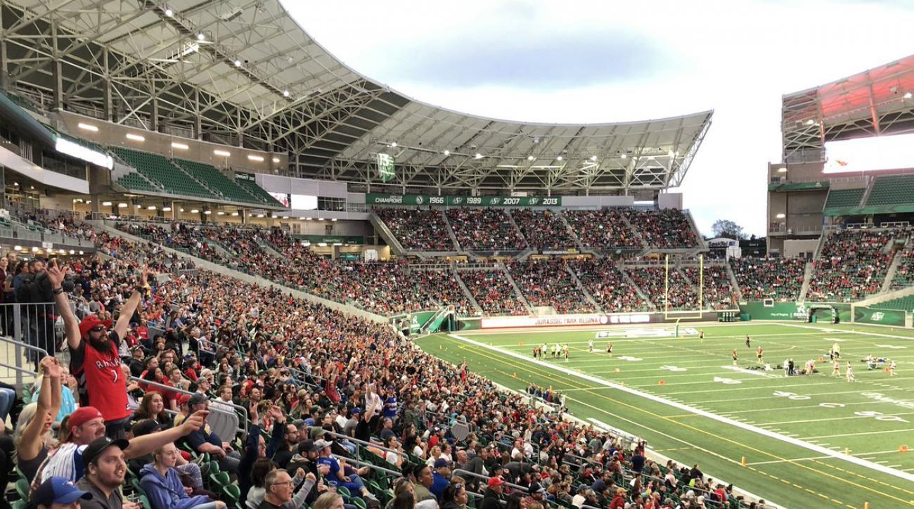 Raptors watch party in Regina, SK draws 13,000 fans (photos)