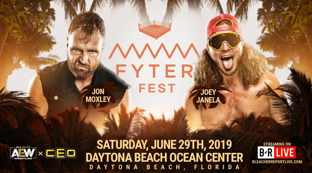 How to watch AEW Fyter Fest: Streaming free on B/R Live app