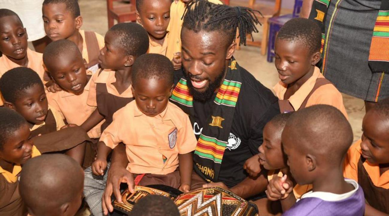 Kofi Kingston Aims to Inspire People All Around the World as WWE Champion