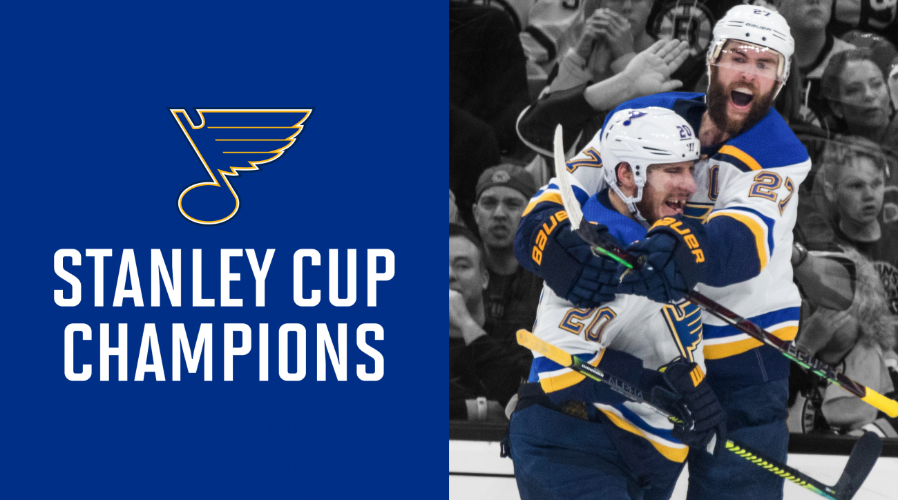 Blues Capture First Stanley Cup in Franchise History