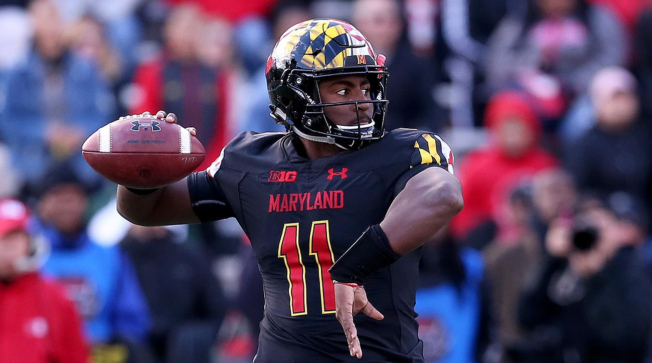 Transfer portal quarterbacks Kasim Hill Maryland 2019